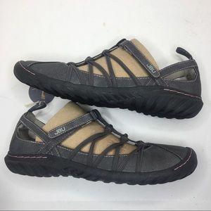 Jambu Shoes - JBU By Jambu Juliet charcoal Mary Jane sandals NIB